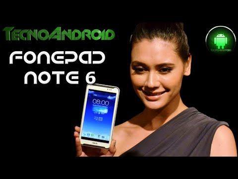 Asus Fonepad Note 6 l'unboxing di Tecnoandroid