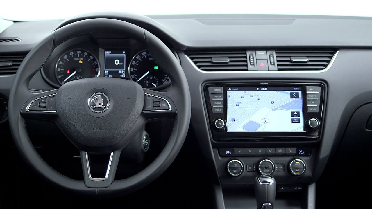 Škoda Octavia 2013 - INTERIOR - YouTube
