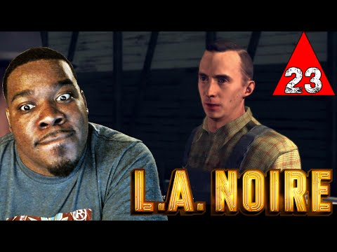 LA Noire Gameplay Walkthrough Part 23 - The Studio Secretary Murder - Lets Play LA Noire
