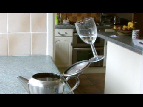 Balancing Glass Trick!