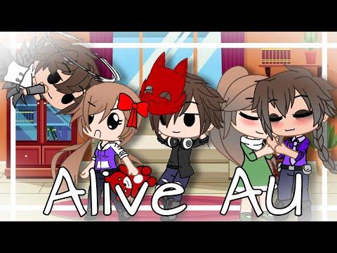 Afton Family || My Alive AU || Gacha Club