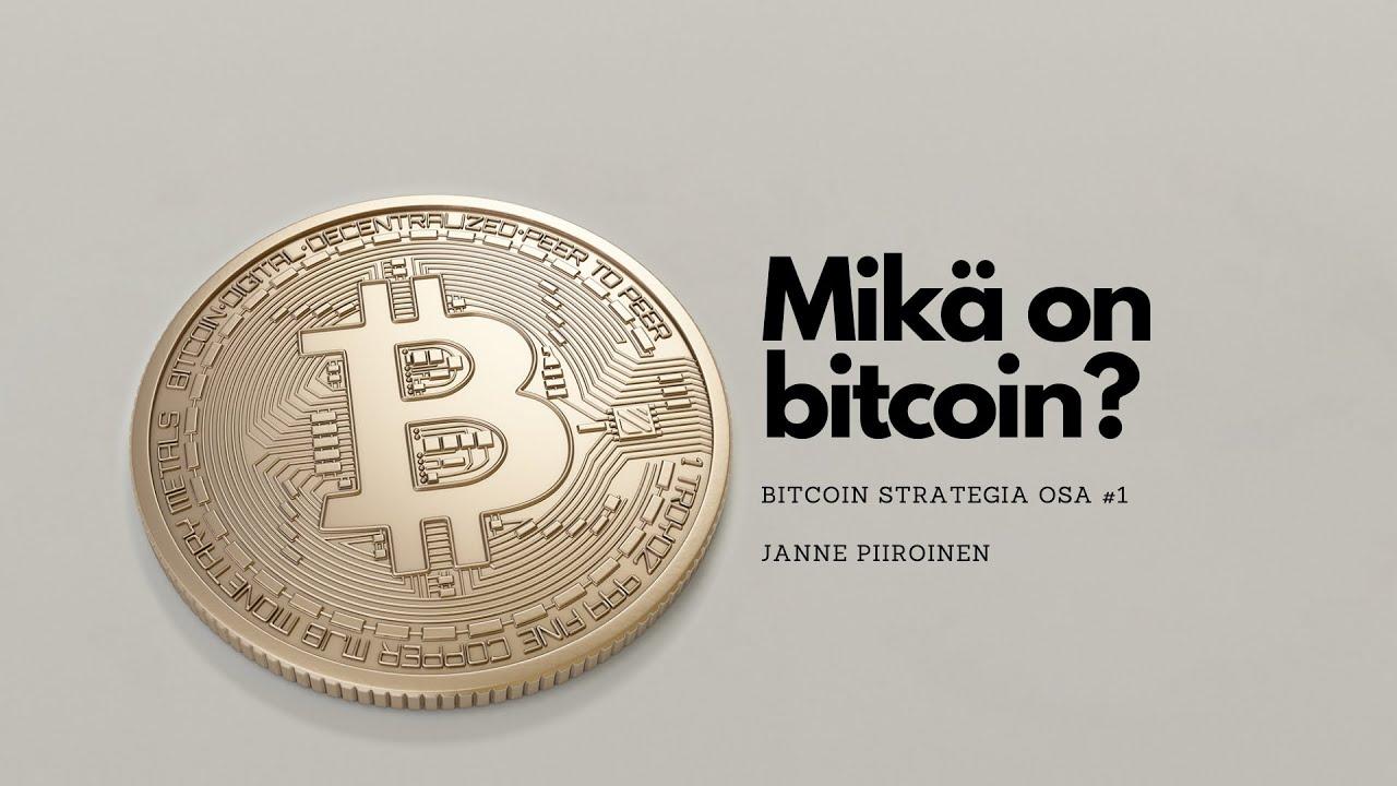 Bitcoin vaurastumisen työkaluna