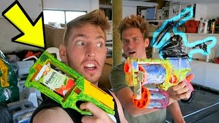 MODDING OUR NERF GUNS!