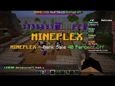 How to Get 600 Gems Daily on the Mineplex Server!