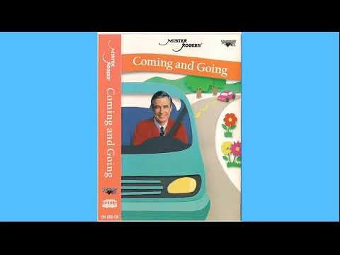 Mr. Rogers Coming And Going Cassette Tape