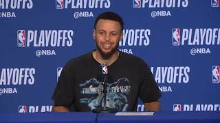 Stephen Curry Postgame Interview | Clippers vs Warriors Game 1