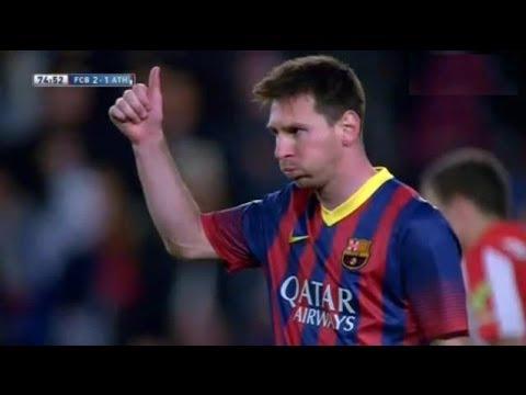Barcelona vs  Athletic Bilbao 2-1 All Goals & Highlights  20.04.2014 Resumen
