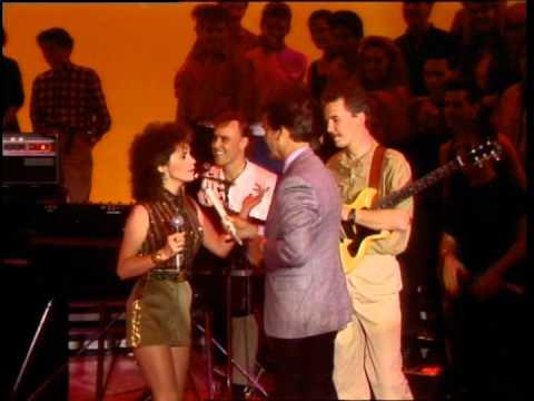 Dick Clark Interviews Sheena Easton- American Bandstand 1984