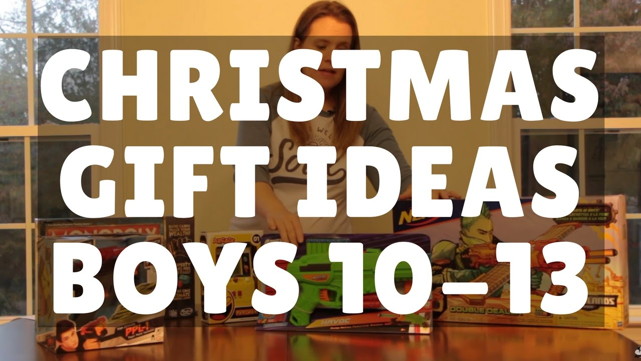 Christmas Gift Guide Top Gifts For Boys 10 To 13 Youtube