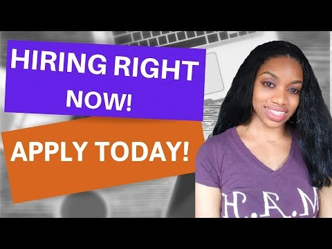 High Paying Work From Home Jobs NOW HIRING.$15-$30 An Hr. With Benefits.