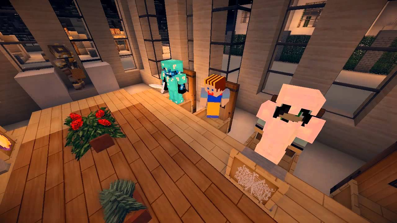 Kitchen Designs And Ideas Minecraft ~ Minecraft conference room showcase youtube