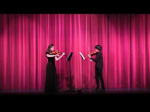 Prelude Chamber Music Program - Duo Concertante in C. Major, Op. 19 - June 1, 2014