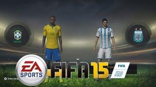 FIFA 15 Contenido - Juego Completo Menús, Modos de Juego Equipos Uniformes y mas!