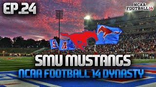 Week 10 @ #15 Notre Dame! NCAA Football 14 SMU Mustangs Live Stream Dynasty Ep.24 (Y2)