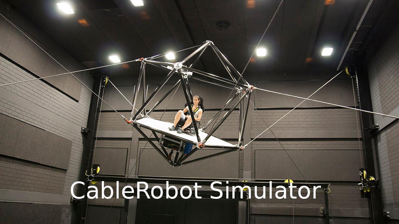 CableRobot Simulator