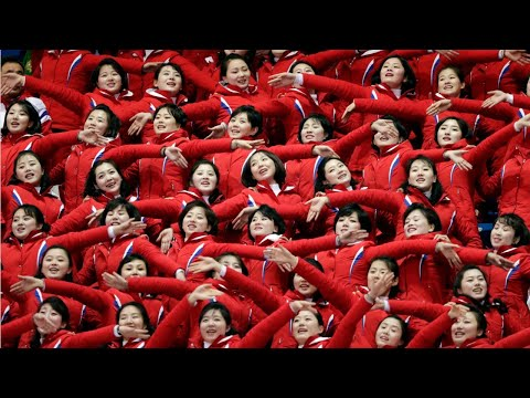 North Korea's Unique Cheerleading Squad At The Winter Olympics
