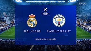 FIFA 20 Prediction Real Madrid vs Manchester City UCL Round of 16