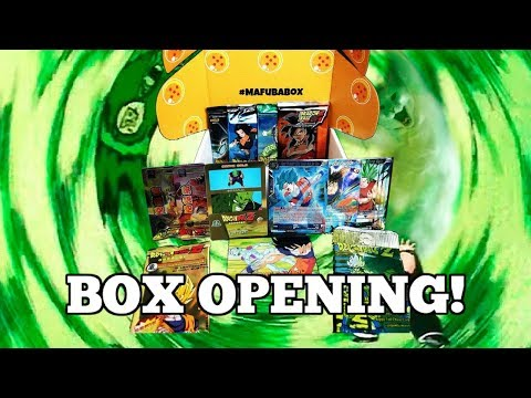 MYSTERY! Mafuba Box Opening! DRAGON BALL SUPER CARD GAME!