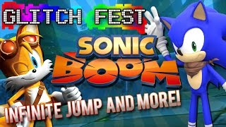 Sonic Boom: Knuckles Infinite Jump & More! - Glitchfest