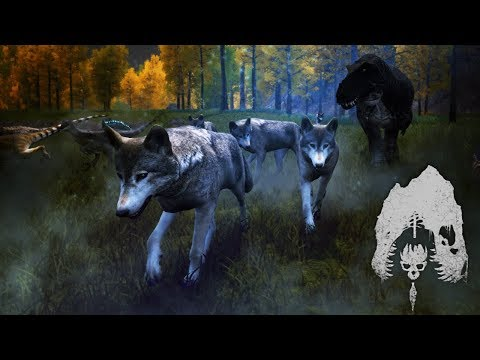 The Isle - Wolf Pack Battles To Survive With DINOSAURS! Escaping Rex & Utah Ambushes! - Gameplay