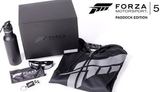 Unboxing the Forza 5 Paddock Edition
