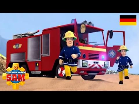 Feuerwehrmann Sam Deutsch   Cartoon für Kinder   Norman Man und Atomic Boy   Helden im Sturm