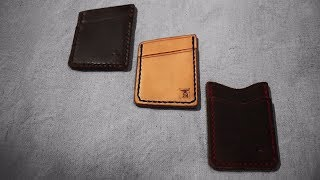 Leather Card Wallet | Everything you need to get started leatherworking