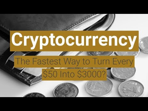 Cryptocurrency: The Fastest Way to Turn Every $50 Into $3000? 8