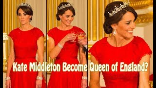 "Kate Middleton Is ""Nervous"" About Become Queen of England"