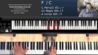 You Are the Sunshine of my Life (by Stevie Wonder) - Piano Tutorial