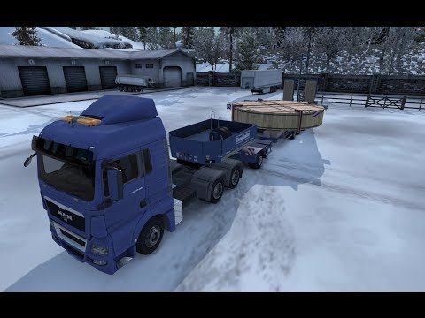 ETS 2 MP Ep 148 Special Transport High-Tech Device from Dresden (D) to Wroclaw (PL)