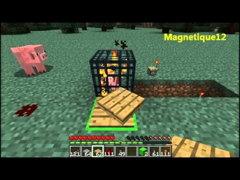 minecraft how to make a mob spawner