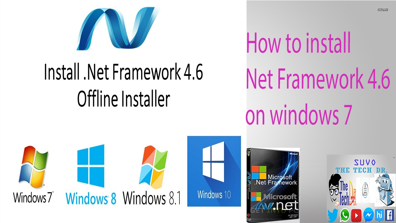 net framework 4.6 download windows 7 32bit