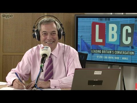 The Nigel Farage Show: Should Donald Trump be welcome to the U.K? Live LBC - 29th November 2017