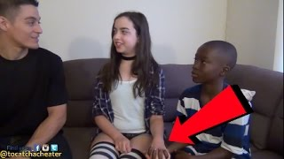 Young Girl Sets Up 13 Year Old Boyfriend To See If He'll Cheat!
