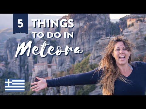 5 Reasons to Visit METEORA, Greece ✟ NOT just Monasteries! ✟