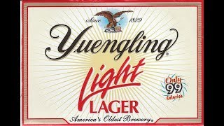 Yuengling Light Lager Beer Review