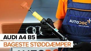 AUDI A4 videolæringer og reparationsmanualer – holder din bil i tip-top stand