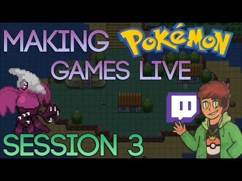 Making Pokemon Games Live (Tidal Session 3)