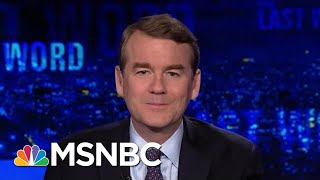 Senator Michael Bennet: Trump Has 'No Respect For The Rule Of Law' | The Last Word | MSNBC