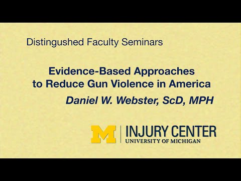 Evidence-Based Approaches to Reduce Gun Violence in America