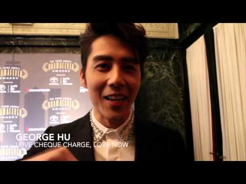 Mochi Magazine Interviews George Hu (胡宇崴), 5urprise (서프라이즈) in English at the DramaFever Awards 2015