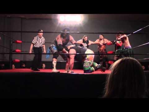 3PW 5 man tag match 4/9/16