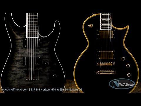 ESP E-II Horizon NT-II & ESP E-II Eclipse DB