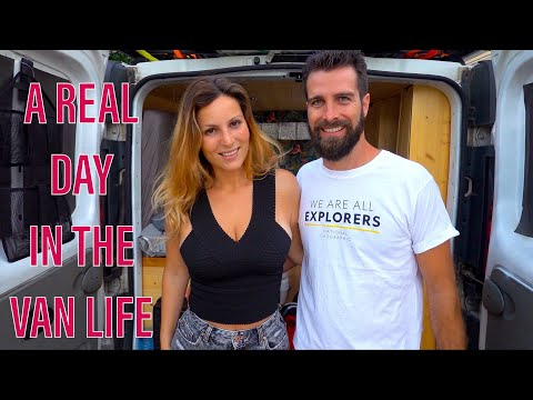 A REAL DAY in THE VAN LIFE SICILY - Ortigia Island ITALY