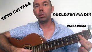 COURS DE GUITARE # 11 - QUELQU'UN M'A DIT Mp3