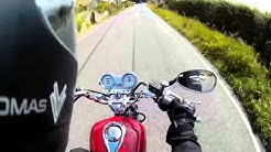 2015 Yamaha YBR 125cc 'Custom' REVIEW + Road Footage