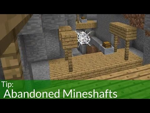 Abandoned Mineshafts In Minecraft!