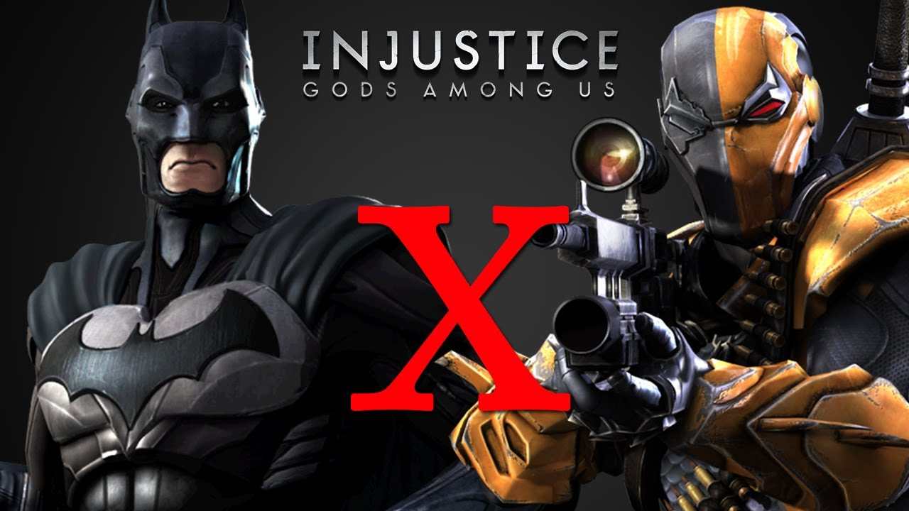 Batman x Deathstroke - Injustice Gods Among Us - YouTube