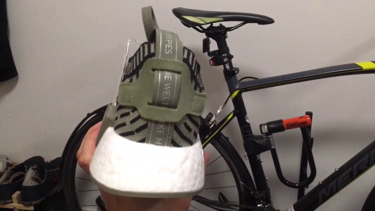 759075db56972 Unboxing NMD R2 PK Cargo Green - YouTube